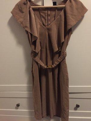 Hellbraunes Kleid von H&M