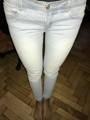 Helle 'ausgewaschen' Jeans