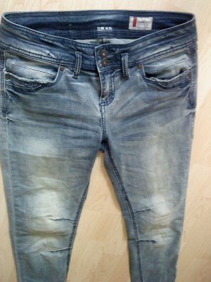 helle blaue Sommerjeans in 30 (40) Denim 1982