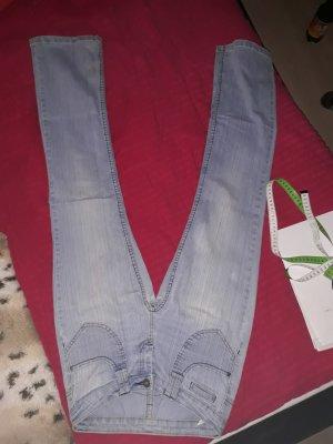 Boot Cut spijkerbroek azuur-lichtblauw