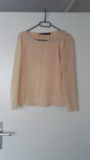 Zara Camicetta a blusa color carne-albicocca