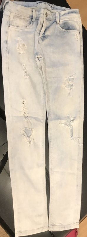 Helle Destroyed Jeans Gr. 34
