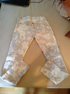 Helle Garcia Jeans mit Rosenprint