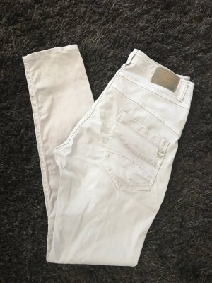 Please Chinos light grey cotton
