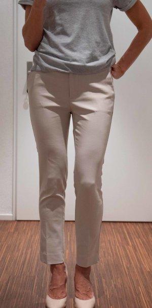 Stradivarius Pantalone cinque tasche bianco sporco-crema