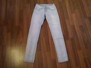 helle Hüft jeans röhre gr. 34