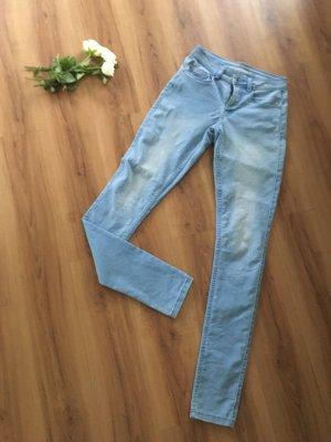 Only Skinny Jeans light blue