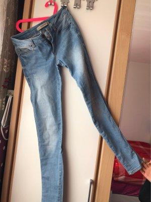 Zara Drainpipe Trousers azure