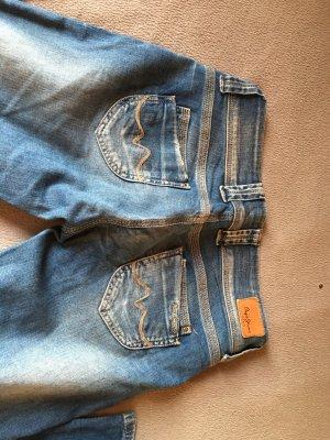 Helle Jeans Hüfthose