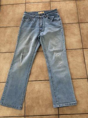 helle Jeans von Doccet Linda regular fit - W34,L30 - Gr. L