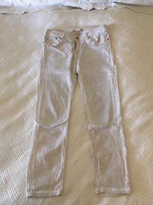 Zara Jeans blanc cassé
