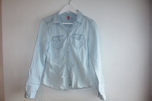 Helle Jeansbluse