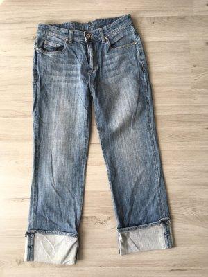 Montego Pantalone a 3/4 multicolore Cotone