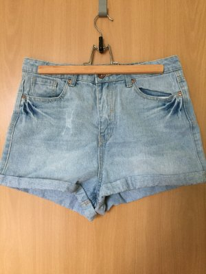helle Jeansshorts