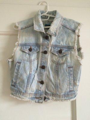 Helle Jeansweste von Zara, Größe S