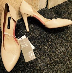 Helle Leder High Heels von H&M