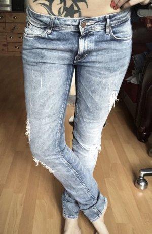 H&M Skinny Jeans white
