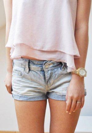 helle Shorts Jeansshorts sehr kurz Denim Life