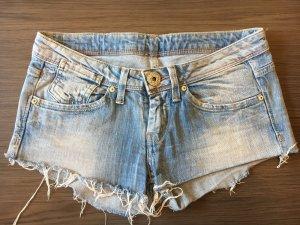 Pepe Jeans Hot pants babyblauw-azuur