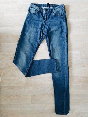 Helle skinny highwaist Jeans von H&M