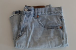 Heller Jeans Minirock im Used-Look von GAP in Gr. S (UK 8)