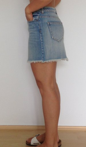 100 Denim Skirt multicolored cotton