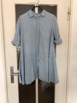 Zara Woman Jeansjurk lichtblauw
