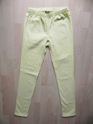 Pieces Treggings pale yellow-primrose