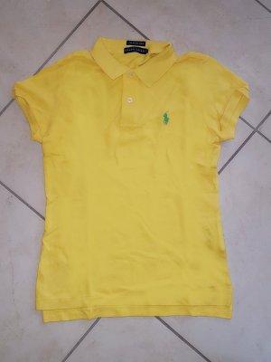 """Hellgelbes Damen Polo-Shirt v. """"Ralph Lauren"""", Gr. S"""