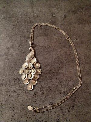 Accessorize Collier incrusté de pierres doré