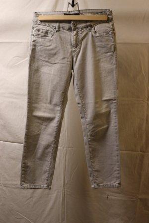 hellgraue 7/8 Jeans