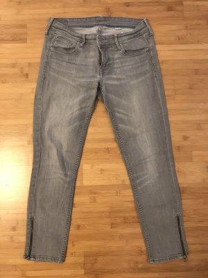 Hellgraue 7/8 Jeans von H&M