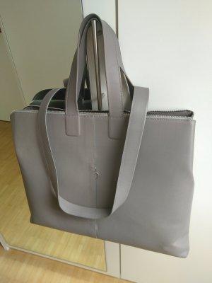 Bree Funda para portátil gris claro Cuero