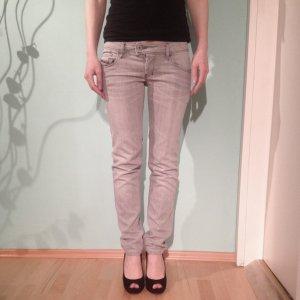 Hellgraue DIESEL NEVY Skinny Jeans +++27/32+++