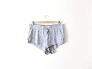 hellgraue H&M Shorts Gr. M 40 jersey baumwolle