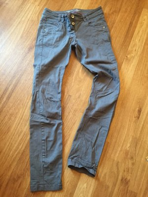 Hellgraue Jeans, relaxed fit