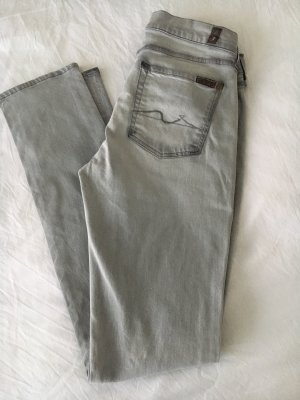 7 For All Mankind Vaquero slim gris claro