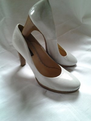 Bagatt Platform Pumps brown-grey