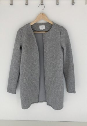 Vila Knitted Coat light grey mixture fibre