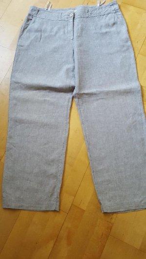 hellgraue Leinenhose, Gr. 46 - sehr wenig getragen
