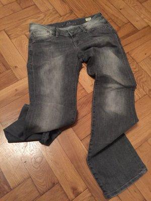 Hellgraue Mavi-Jeans Olivia, schmaler Schnitt, Größe 28/32