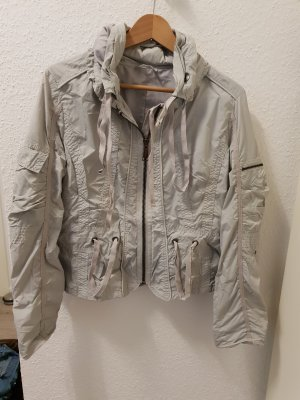 Raincoat light grey
