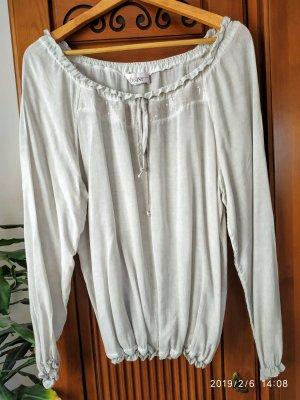 Linea Tesini Oversized blouse lichtgrijs