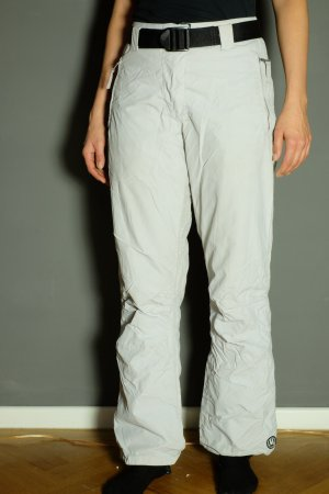 Thermal Trousers white-silver-colored