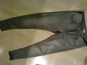 hellgraue Skinny Jeans von HM in 38