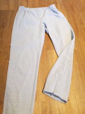 hellgraue Stoffhose in 34 xs von Vero Moda mit Bündchen