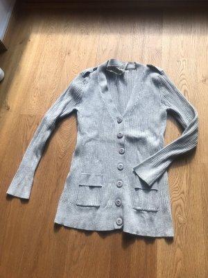 Atmosphere Giacca in maglia grigio chiaro