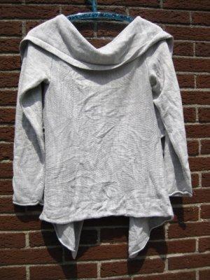 hellgraue Strickjacke von gina tricot Größe XL