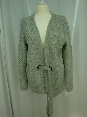 Hellgraue Strickjacke von Willi Smith