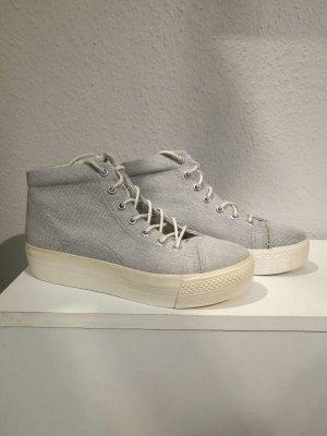 Hellgraue Textil-Sneaker von Vagabond